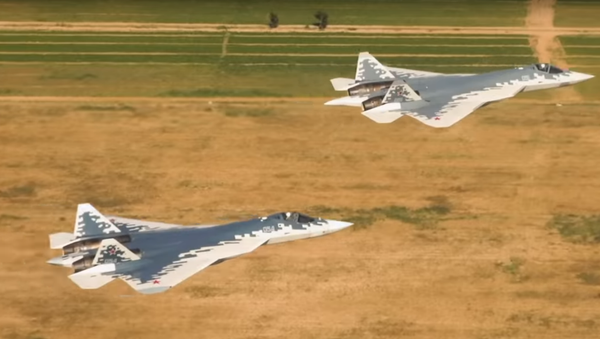 Let Su-57 - Sputnik Česká republika