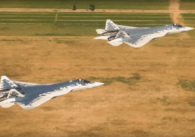 Let Su-57