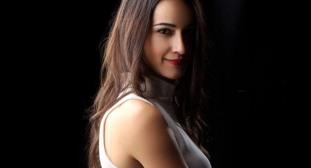 Turecká modelka Sibel Demiralp