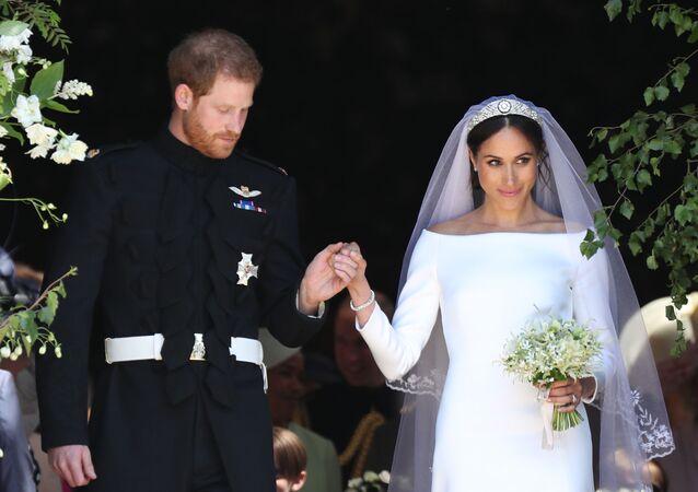 Svatba Meghan Markle a prince Harryho
