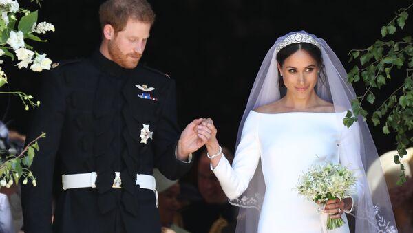 Svatba Meghan Markle a prince Harryho - Sputnik Česká republika