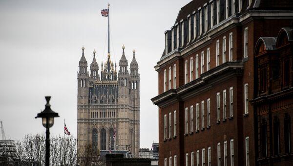 Victoria Tower Westminsterského paláce v Londýně - Sputnik Česká republika