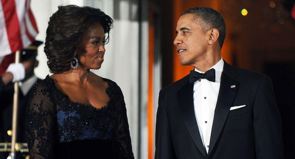 Michelle a Barack Obamovi v Bílém domě