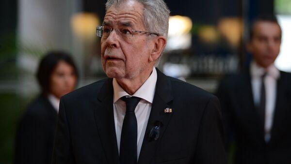 Prezident Rakouska Alexander Van der Bellen - Sputnik Česká republika