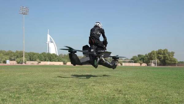 Police Dubaji dostane létající motocykly (VIDEO) - Sputnik Česká republika
