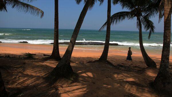 Pobřeží ostrova Srí Lanka - Sputnik Česká republika