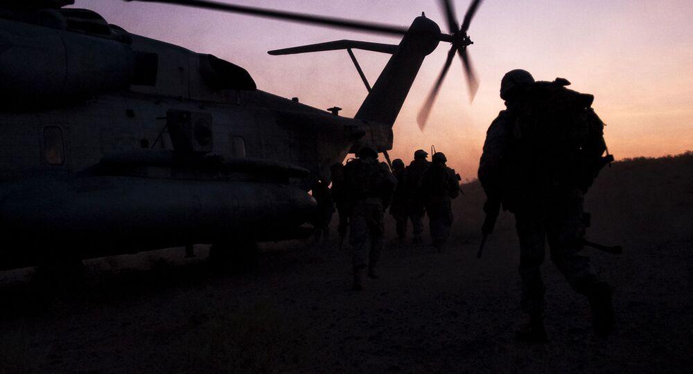 Vrtulník NATO v Afghánistánu