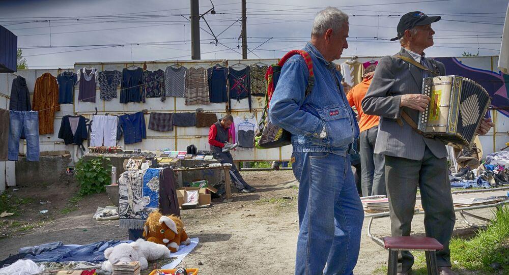 Kyjev. Bleší trh