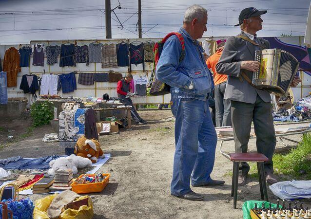Bleší trh na Ukrajině