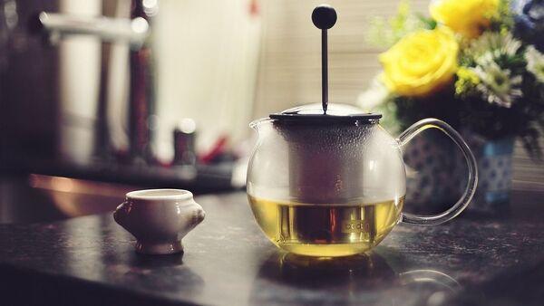 Zelený čaj v konvici. Ilustrační foto - Sputnik Česká republika