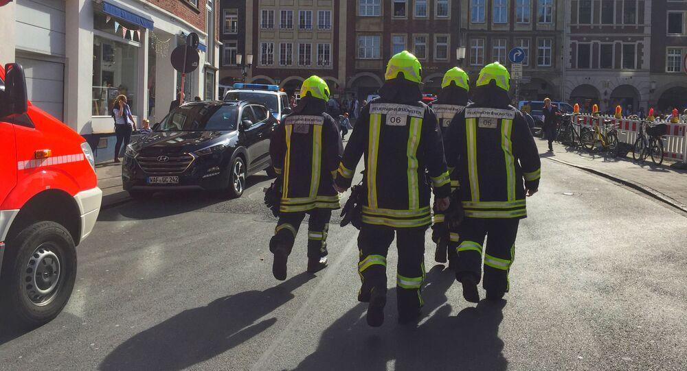 Němečtí hasiči. Ilustrační foto
