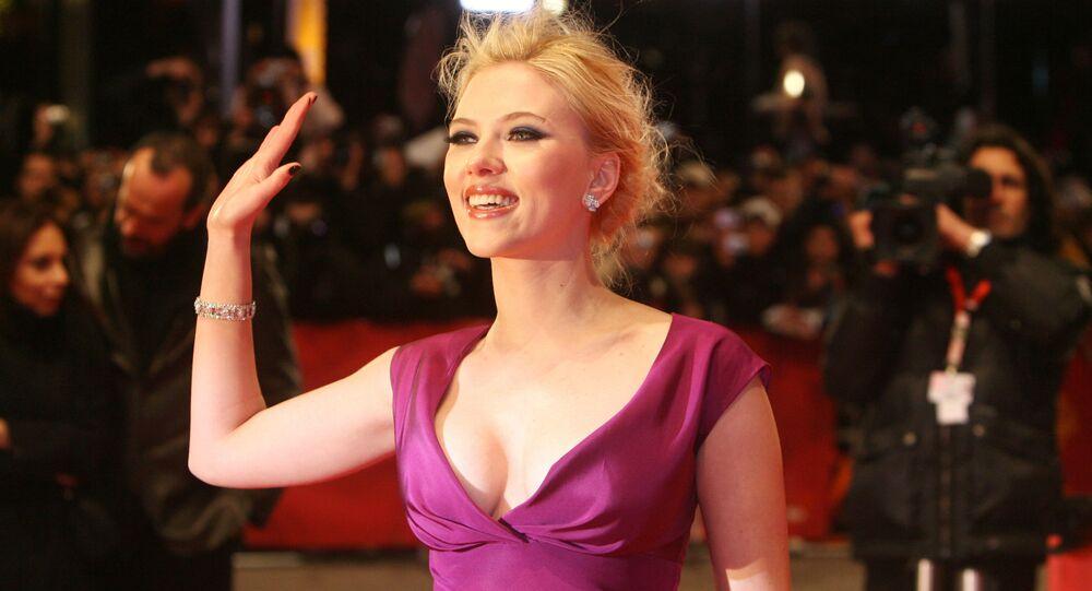 Americká herečka Scarlett Johanssonová
