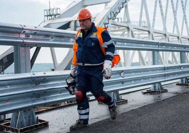 Stavitel Krymského mostu