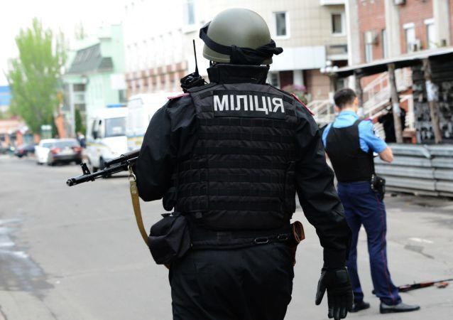 Příslušník ukrajinské policie