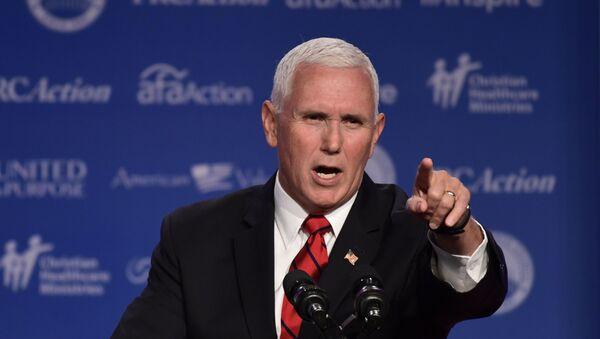 Americký viceprezident Mike Pence - Sputnik Česká republika