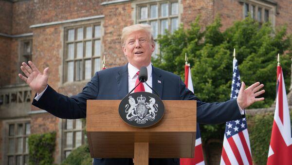Prezident USA Donald Trump - Sputnik Česká republika