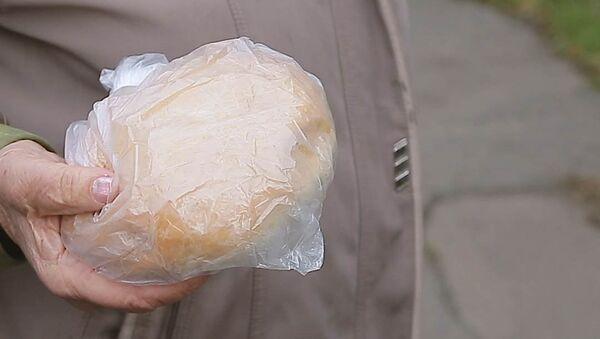 Chléb z této police si můžete vzít zdarma - Sputnik Česká republika