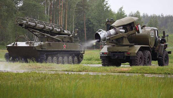 Ruský vojenský vůz TMS-65U - Sputnik Česká republika