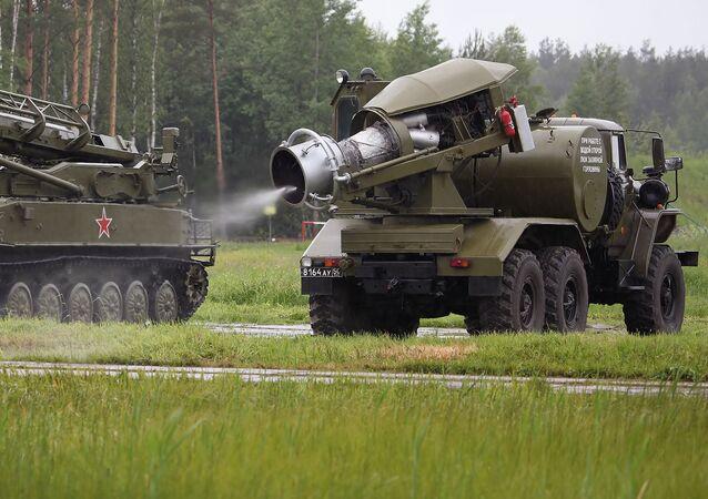Ruský vojenský vůz TMS-65U