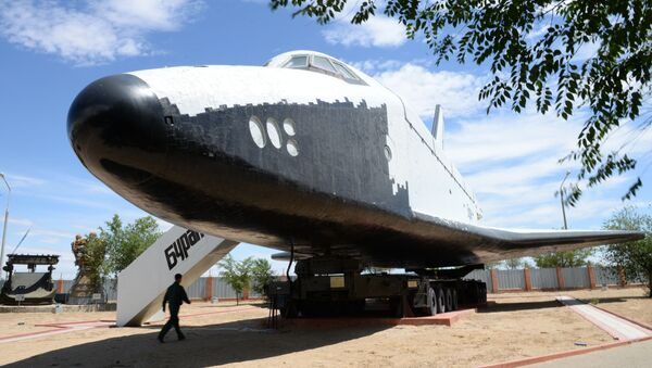 Sovětská kosmická loď Buran - Sputnik Česká republika