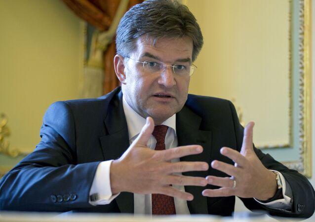 Slovenský ministr zahraničí Miroslav Lajčák