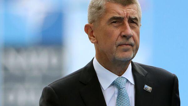 Český ministerský předseda Andrej Babiš - Sputnik Česká republika