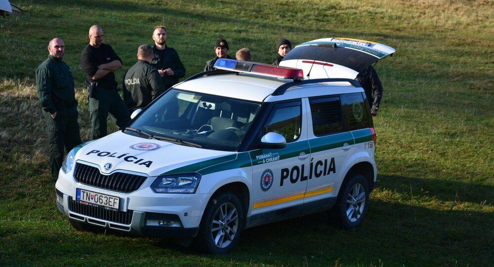 Slovenská policie. Ilustrační foto.