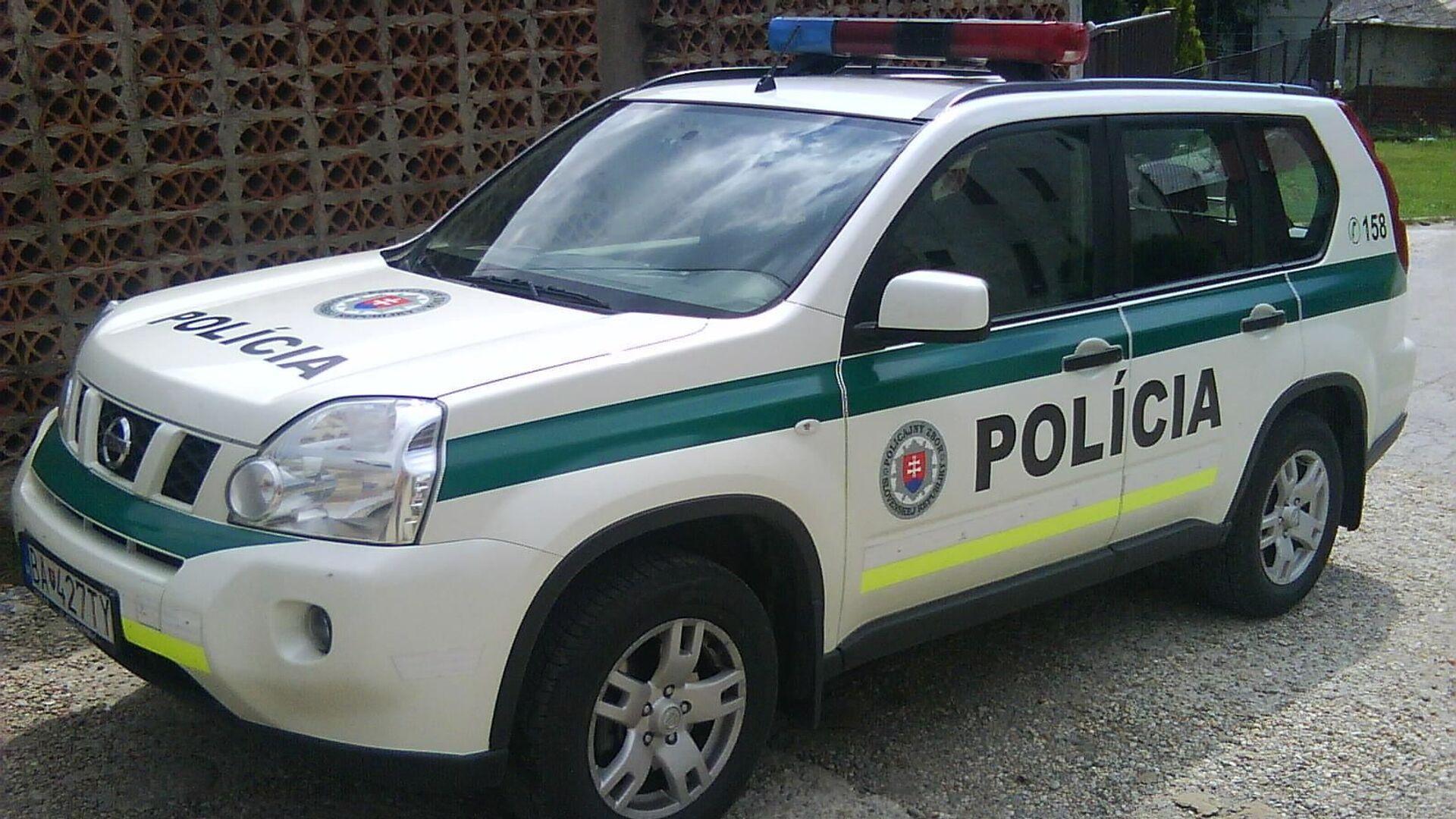 Slovenská policie - Sputnik Česká republika, 1920, 17.08.2021