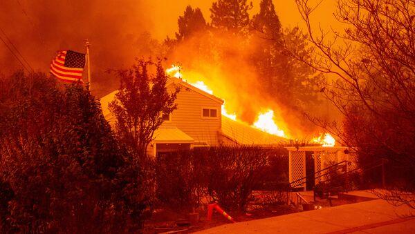 Lesnícní požáry v Kalifornii - Sputnik Česká republika