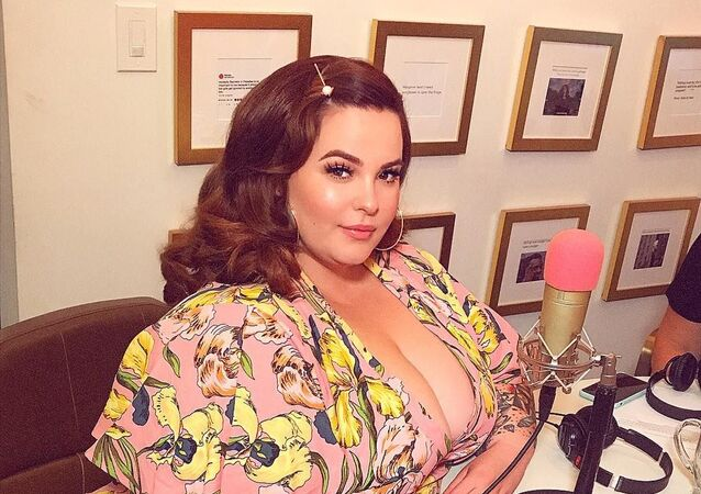Plus size modelka Tess Holliday