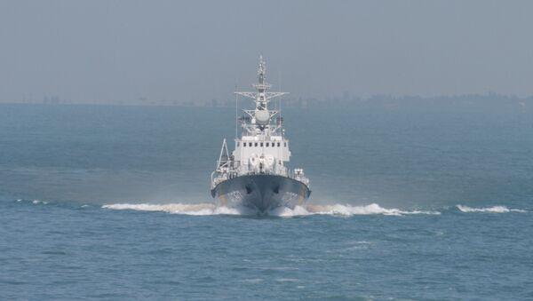 Ukrajinská loď Grigorij Kuropjatnikov - Sputnik Česká republika