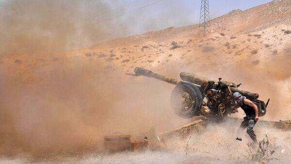 Boj proti IS v Sýrii - Sputnik Česká republika