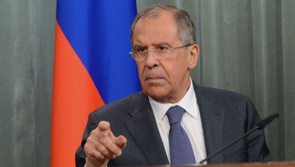 Ministr zahraničních věcí RF Sergej Lavrov - Sputnik Česká republika