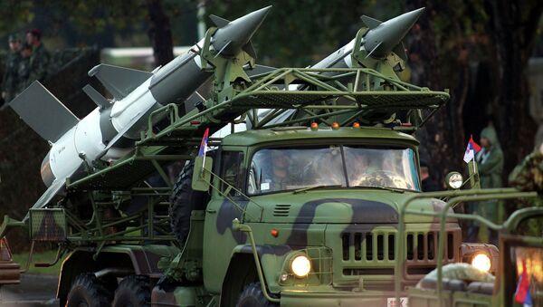 Raketový komplex S-125. Ilustrační foto - Sputnik Česká republika