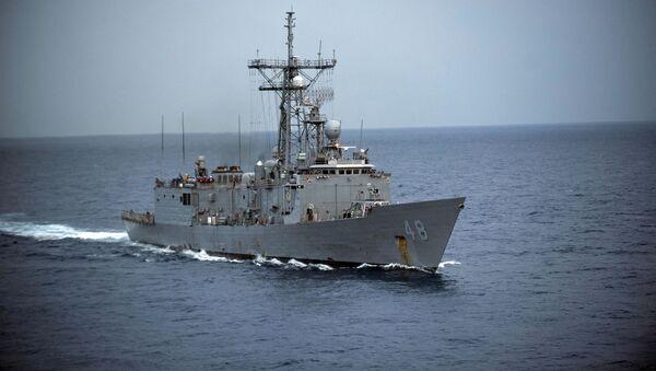 Americká fregata typu Oliver Hazard Perry - Sputnik Česká republika
