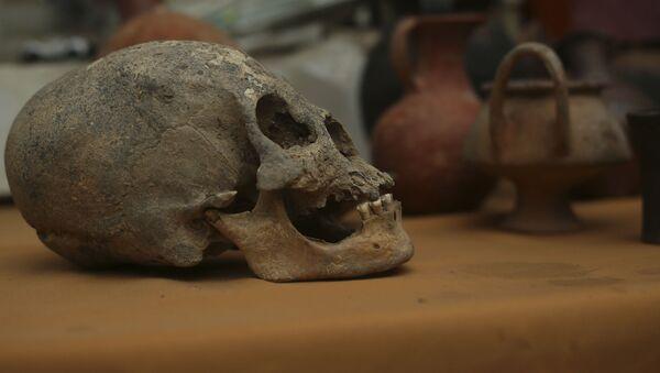 Hromadný hrob, který archeologové našli v Bolívii - Sputnik Česká republika