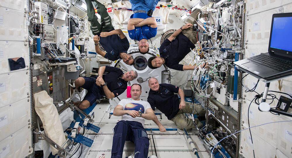 Uvnitř ISS