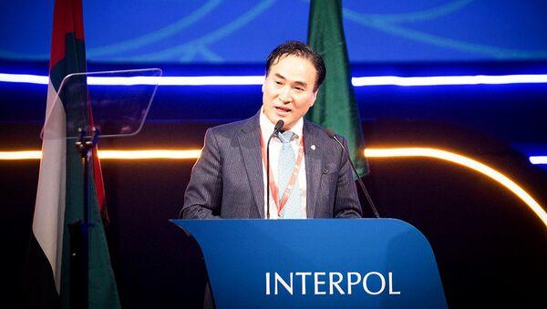 Nový prezident Interpolu Kim Jong Yang - Sputnik Česká republika