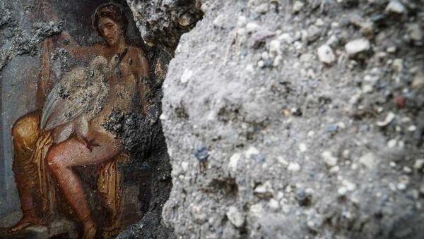 Freska v Pompejích - Sputnik Česká republika