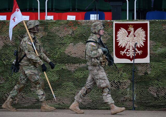 Američtí vojáci v polském Ořiši