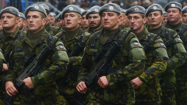 Čeští vojáci na přehlídce - Sputnik Česká republika