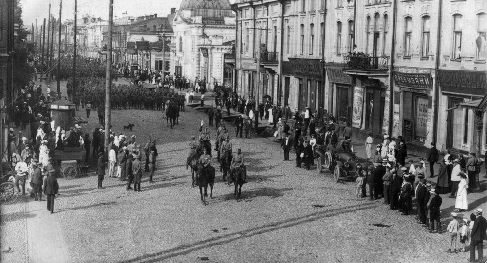 Vstup československých jednotek v Irkutsk, 1918