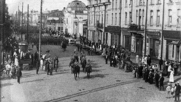 Vstup československých jednotek v Irkutsk, 1918 - Sputnik Česká republika