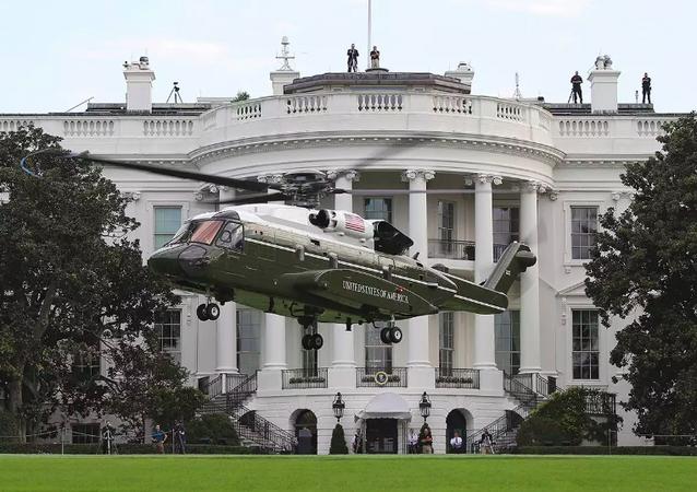 Vrtulník Sikorsky VH-92 Marine One určený pro pravidelné lety prezidenta Donalda Trumpa