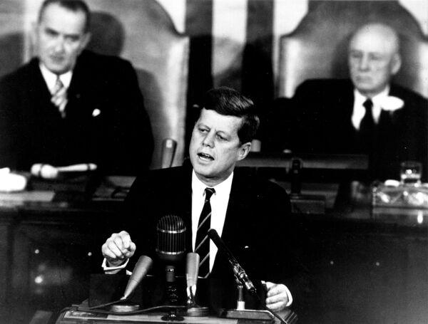 Americký prezident John F. Kennedy - Sputnik Česká republika