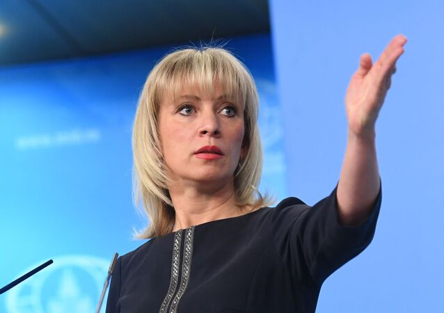 Mluvčí ruského ministra zahraničí Maria Zacharovová
