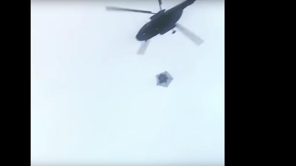 Nad Kremlem přeletěly záhadné vojenské vrtulníky - Sputnik Česká republika