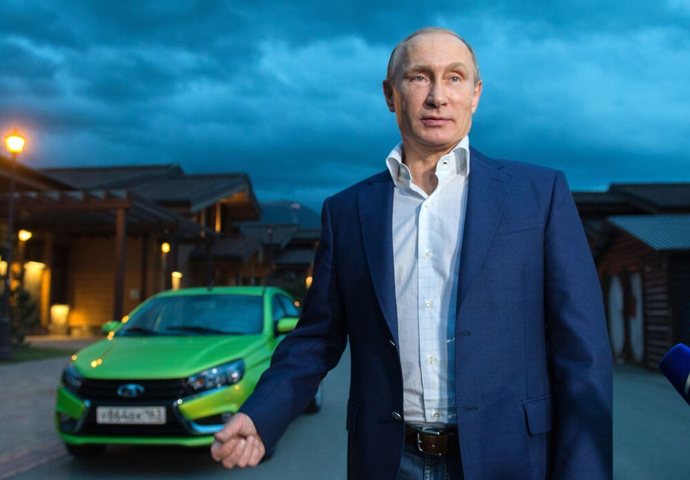 Putinova auta