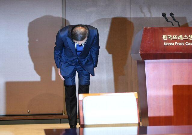 Prezident a generální ředitel společnosti Samsung Electronics Kim Ki Us se omluvili zaměstnancům s diagnózou rakoviny
