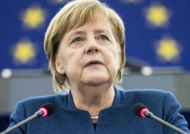 Merkelová uvedla termíny vstupu Ukrajiny do EU, prohlásili v Kyjevě